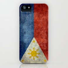Republic of the Philippines national flag (50% of commission WILL go to help them recover) Slim Case iPhone (5, 5s)