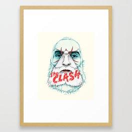 Mothbums Portrait N°7: Brother Kurt Framed Art Print