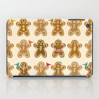 ginger iPad Cases featuring Ginger by Kakel