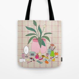 Still Life Bathroom Tote Bag