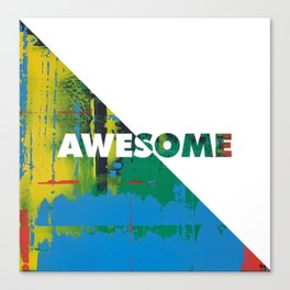 Color Chrome - Awesome graphic Canvas Print