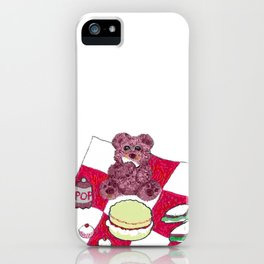 Teddy bear's picnic iPhone Case