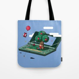A relaxing little world Tote Bag