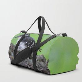 Downy Woodpecker! Duffle Bag