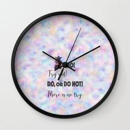 Do or do not Wall Clock
