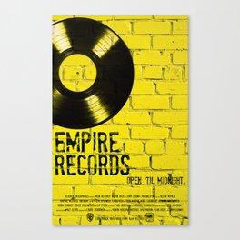 Empire Records Canvas Print