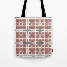 Graph 4 on Grey Tote Bag