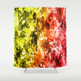 Abstract 2014-11-01 Shower Curtain