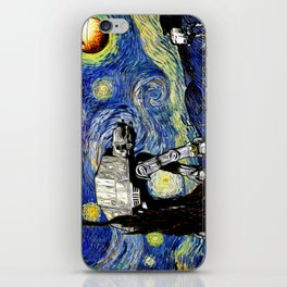 Starry Night versus the Empire iPhone Skin