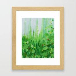 Mini Grass Framed Art Print