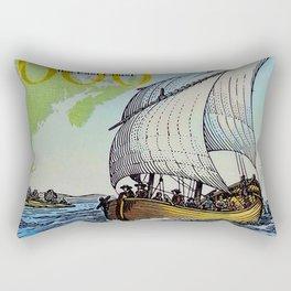 Champlain's Survey Rectangular Pillow