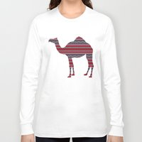 camel Long Sleeve T-shirts featuring Camel by Ain Clothing