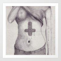 No Faith Left Art Print