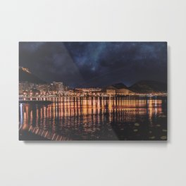 A night in the city Metal Print