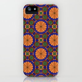Arg of Karim Khan Zand Stained Glass iPhone Case