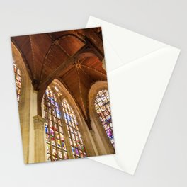 Inside Oude Kerk Stationery Cards