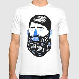 Animal Beard T-shirt