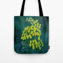 Yellow Field of Flowers Tote Bag