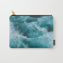 Electric Ocean Carry-All Pouch