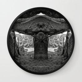 Alien Dolmen Wall Clock
