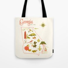 Georgia State Love Tote Bag