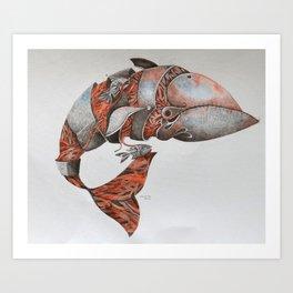 Baleia II Art Print