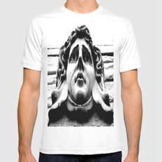 Stoney face MEDIUM White Mens Fitted Tee