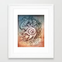 seashell Framed Art Prints featuring Seashell by Irina Vinnik
