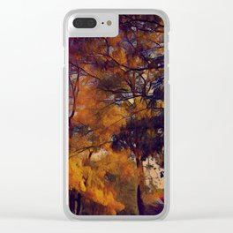 Amazing Nature 116 Clear iPhone Case