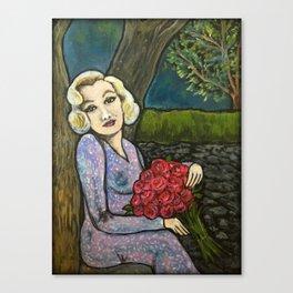 Marilyn in Love Canvas Print