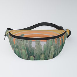 Cactus and Rainbow Fanny Pack