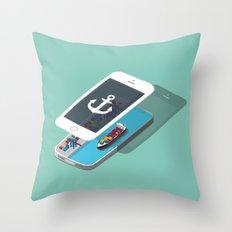 iPort Throw Pillow