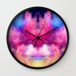 Powder Paint Wall Clock