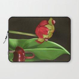 Pitcher Plant Flowers Laptop Sleeve