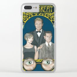 Gatsby Clear iPhone Case