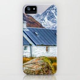 Black Rock Cottage Glencoe (2) iPhone Case