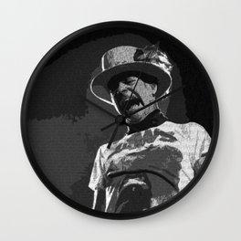 Ahead by a Century - Gord Downie Tragically Hip (alt) Wall Clock