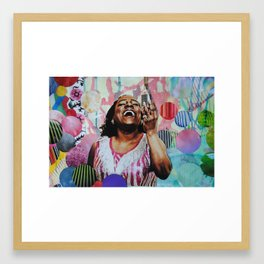 Sharon Jones Framed Art Print