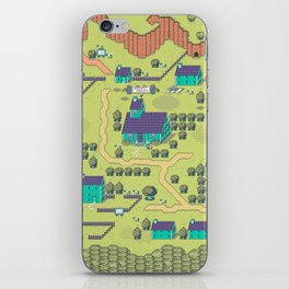 Just A Happy (Happy) Village iPhone Skin