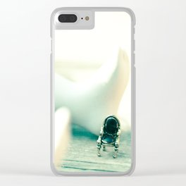 Alice's Escapades ~ Alice & The Chair Clear iPhone Case