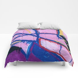 Washed Out Magenta Comforters