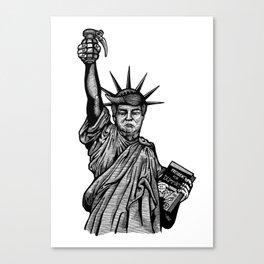 Statue of Suppression Canvas Print