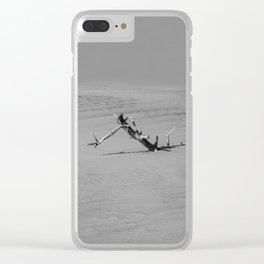 Slow Fall Clear iPhone Case