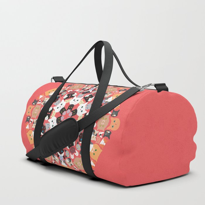 Catleidoscope Duffle Bag