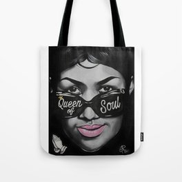 Queen of Soul Tote Bag