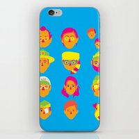 moonrise kingdom iPhone & iPod Skins featuring Moonrise Kingdom by Brittany Metz