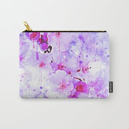 japanese cherry blossom wspb Carry-All Pouch