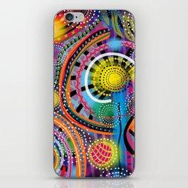 Biology of Lovers on a Rainy Night (Horizontal) iPhone Skin