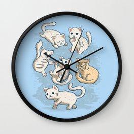 Cute Kittens Wall Clock