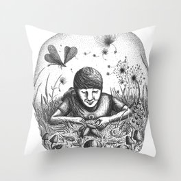 Naturalize Throw Pillow